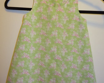 Gently Used Easter Dress with Diaper Cover Size 12 mo.