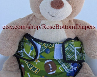 football sports cloth diaper cover, waterproof PUL