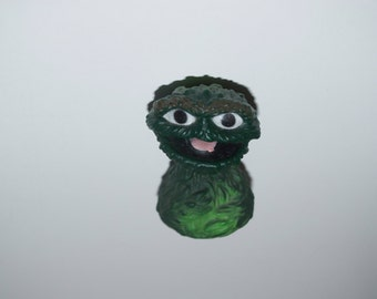 Oscar the Grouch Finger Puppet from Sesame Street