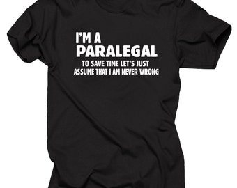 Paralegal  T-Shirt Gift For Paralegal Funny Unique Gift T-shirt