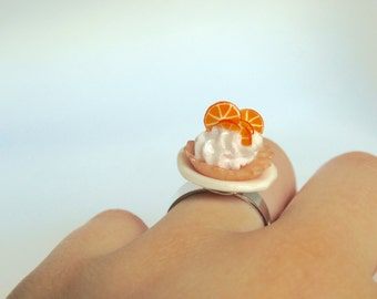Orange Tarte Ring ! For a Tea-Party!