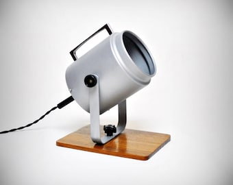 Mid Century Modern | Mad Men Style 60's  Bedside Table Projector Lamp
