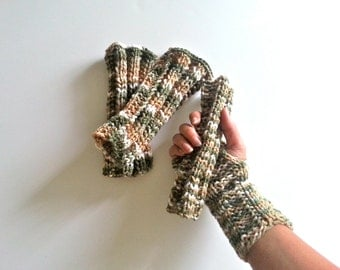 Pick up your style Boot cuffs or Fingerless gloves,  Hand-knitted Wrist Warmers