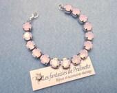 Bracelet de mariage, témoins, demoiselles d'honneur rivière de cristal - Bridal, bridesmaids rhinestones bracelet