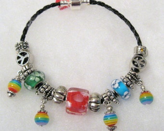 344 - CLEARANCE - Bright Beaded Bracelet