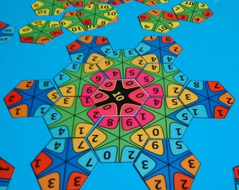 DIY Adding Numbers Game, Count to 10 Digital Game, Back to School, Gift for New Pupil, Home School Digital Puzzle, Education Learning Game