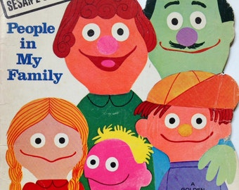 Sesame Street People In Family Book
