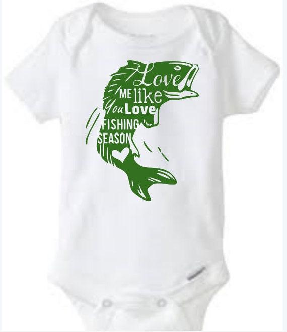 Fishing Season Love Baby Girl Boy Toddler By Fancyflamingobaby