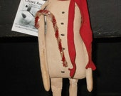Primitive Boy of Snow Snowman doll HAFBF enter cpn code 20CYBER for 20 perc off