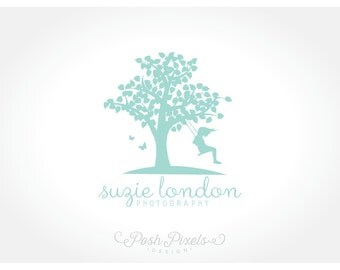 Logo Design (Premade) Tree logo, Photography logo, Child logo, Business logo