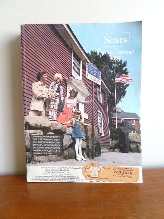 1976 Sears Catalog Spring Summer Vintage Fashion