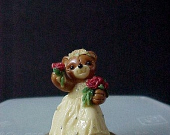 "PenniBears Curtain Call miniature 2"" tall  mint condition, new in original box"