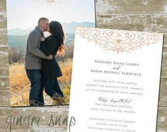 Penelope Wedding Invitation