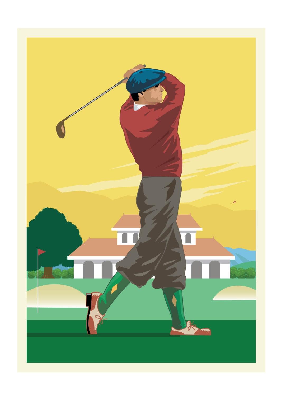 Vintage Golfing 119