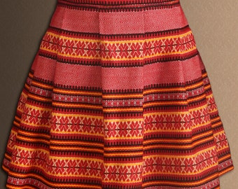 Ukrainian skirt. National Ukrainian clothing. Skirt for girls from 1 to 16 years. Ukrainian embroidery.