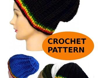 Rasta Hat Knit Pattern : Rasta hat pattern Etsy