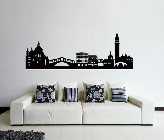 Venice Wall Decal Venice Skyline Decal Cities By Remakeproject