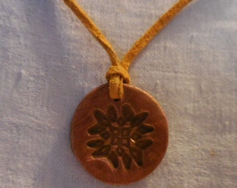 Essential Oil Aroma Therapy Necklace Pendant Madallion