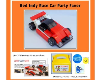LEGO® Party Favors - Red Indy Racecar