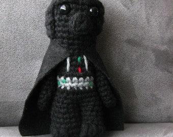 Crochet Darth Vader amigurumi