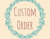 RESERVED LISTING | Handmade Chunky Crochet Scarf in Blackberry | CUSTOM Order
