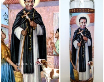 """Bill Cosby Prayer Candle. Saint Cosby! Great Gift! Premium Handmade 9"""" Soy Candle!"""