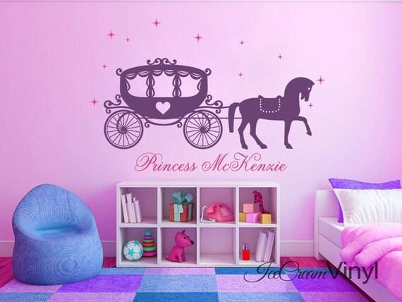 Princess Decor Name Decal Horse Decal