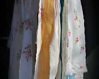 Exquisite Vintage Fabric Mobile, Nursery, Decor, Weddings, Parties