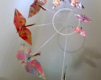 Mobile origami 8 cranes