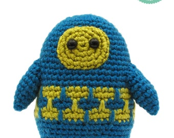 Spleen the Alien Amigurumi - Cute Crochet Pattern
