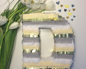 Piñata Letter, Fringe Letters, Cinco de Mayo, Weddings, Fiesta Birthday, Baby Shower