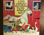 The Animal Fair by Alice& Martin Provensen, HC/1st, A Golden Book (1978) ** ONE CENT Shipping **