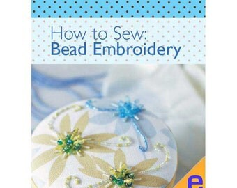 How to Sew: Bead Embroidery Sewing eBook (804015)