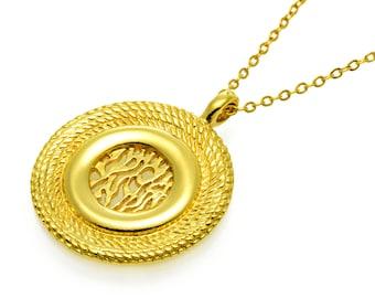 Shema Israel Necklace GOLD Filled 14K  שמע ישראל, jewish jewelry, kabbalah jewelry judaica jewelry