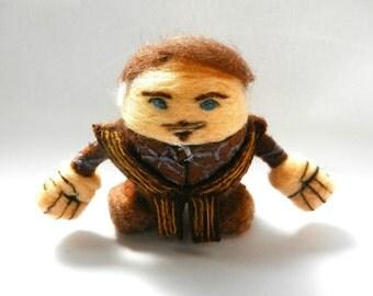 Petyr 'Littlefinger' Baelish - Game of Thrones: 8 cm. / needle felted figure / handmade / FanSci Felts collection #GOTS105