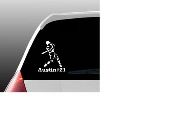 Personalized Baseball Car Window Decal