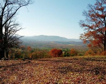 Blue Ridge Mountains Virginia During Fall
