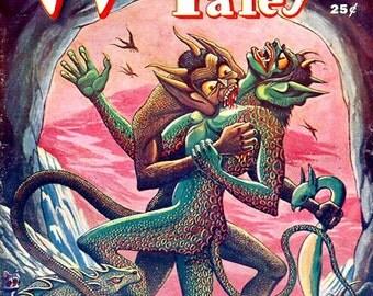 Weird Tales, US pulp magazine cover July 1949 HC-06MR