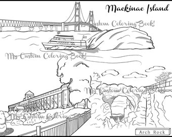 brooklyn bridge coloring pages - photo#22
