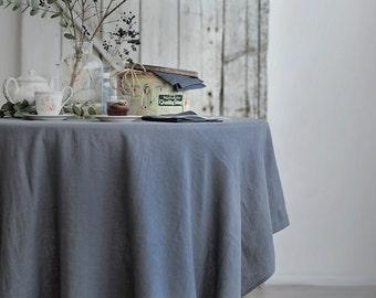 Handmade Linen Tablecloth | Napkins | Table set| Linen Table Set | Washed Linen |Table Decoration | Home Decor | Table Set | Soft Linen