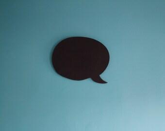 Word Bubble Shaped Chalkboard