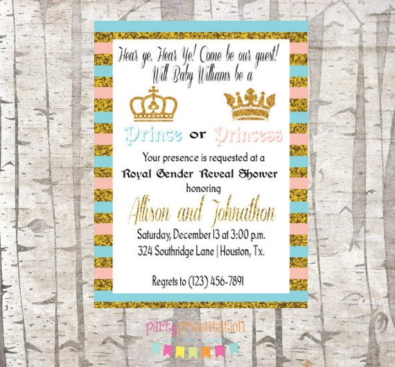 Prince Or Princess Gender Reveal Royal Baby By