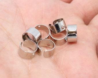 50 Brass Ear Cuff Nickel Free 9mm , Ear Cuff Findings , Earrings , CMR42