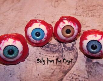 Eyeball Ring Blood Mutation Halloween Horror Creepy