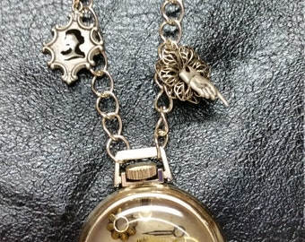 Steampunk Pocket Watch for Time Traveling
