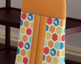 Custom Baby Diaper Stacker - Woodland Elk - Organic Cotton - Nursery Accessories
