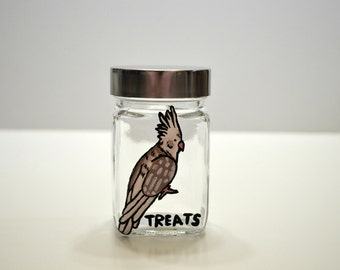Bird Treat Jar - Small
