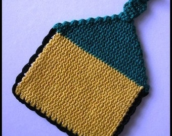 Crocheted Pot Holder (#6)