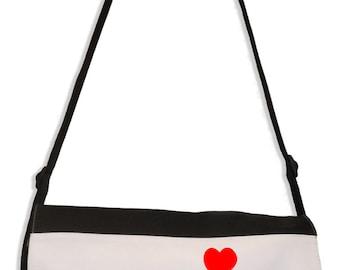 Banksy Heart Balloon Girl Laptop Messenger Bag