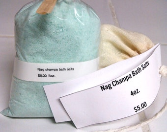 Nag Champa bath salts